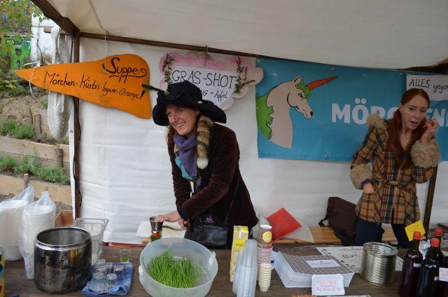 Liqwheat auf dem Katerflohmarkt 2013